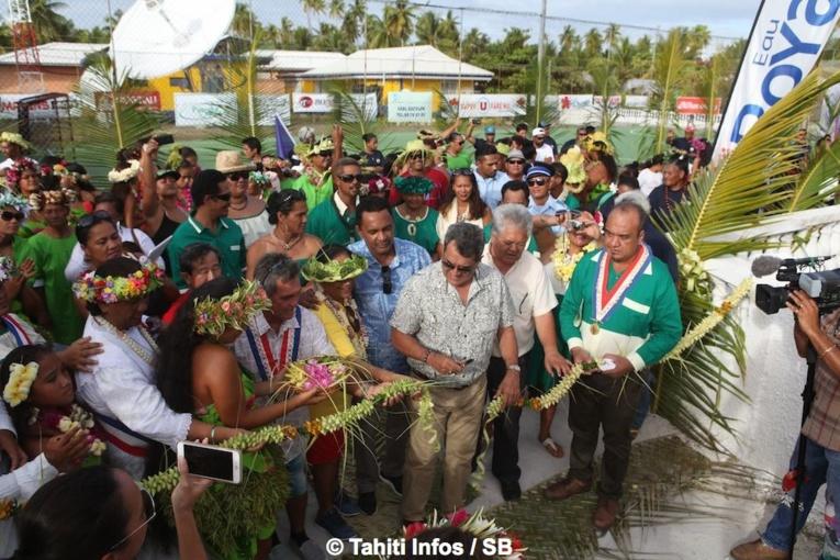 Les Jeux des Tuamotu est sont officiellement inaugurés