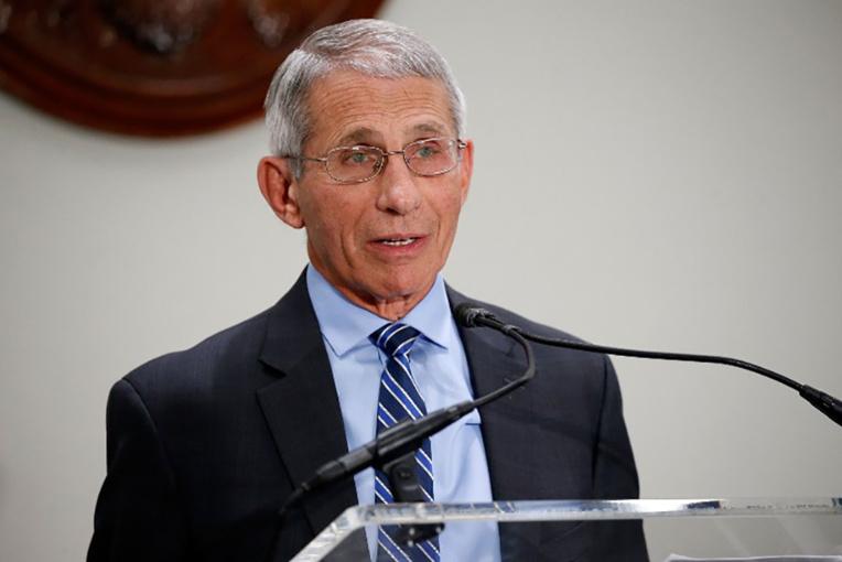 Anthony Fauci, directeur de l'Institut américain des allergies et des maladies infectieuses (NIAID).