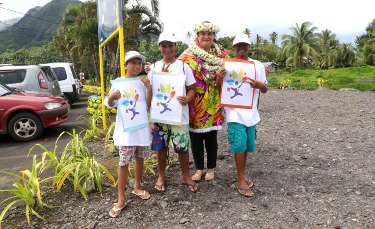 """Concours """"J'embellis ma commune"""" : visite de communes participantes à Tahiti"""