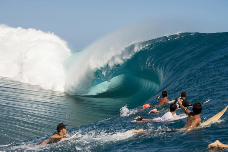 Teahupo'o accueille depuis 1999 l'élite mondiale du surf.
