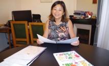 Caroline Tang, directrice de la Délégation de la Polynésie française à Paris.