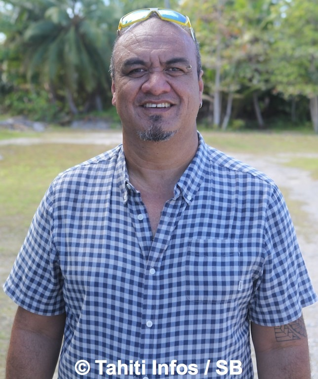 Ernest Teagai, président des 17 communes des Tuamotu-Gambier et maire de Tatakoto