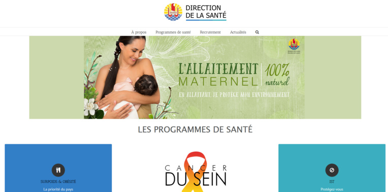 La direction de la Santé lance son site internet