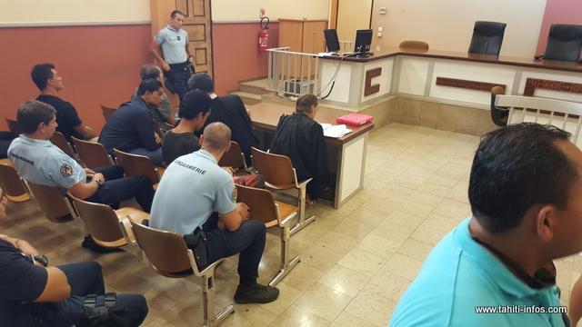 Quatre dossiers de comparutions immédiates étaient au menu du tribunal ce jeudi, dont celui de cette très violente agression conjugale le 16 juin dernier à Pirae.