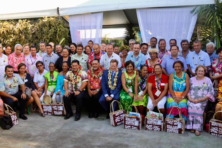 L'ensemble des participants au 28ème congrès des communes.
