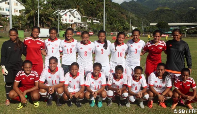 Foot f minin qualifications coupe du monde u17 derni re ligne droite pour les tahitiennes - Derniere coupe du monde foot ...