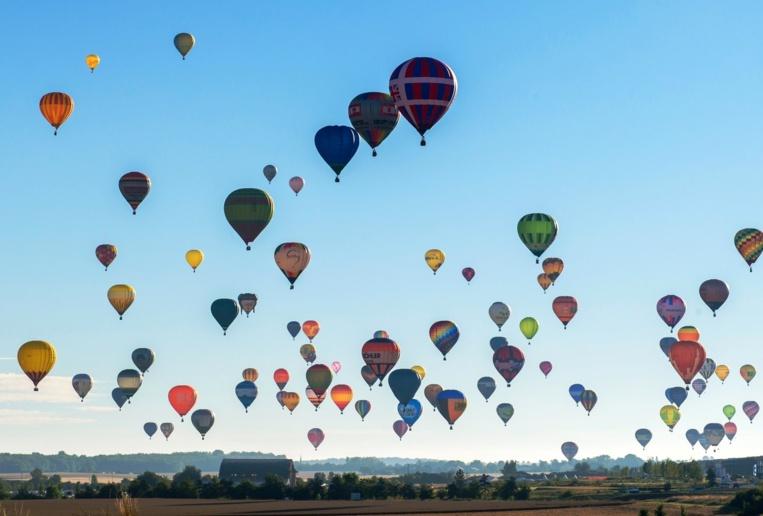 Page enfant : 456 montgolfières ont décollé ensemble vendredi dernier, un record