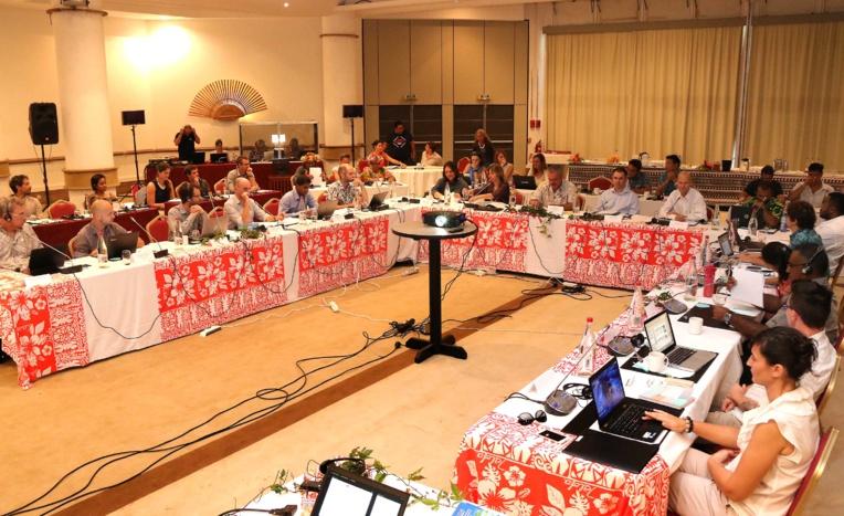 Le comité de pilotage régional du projet Resccue réuni à Tahiti