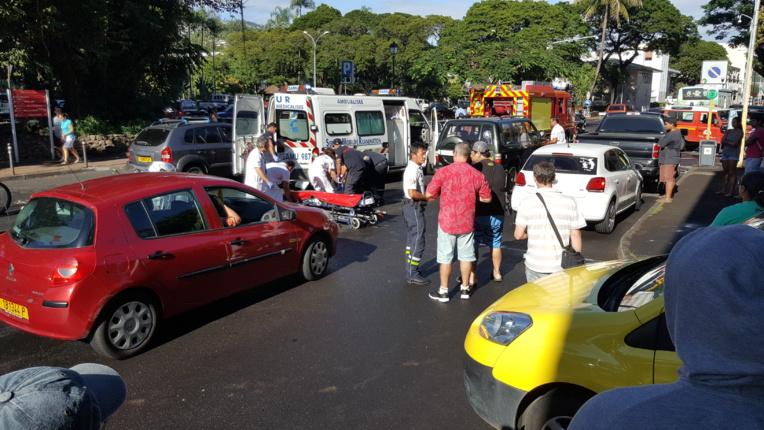 Accident mortel en face du parc Bougainville