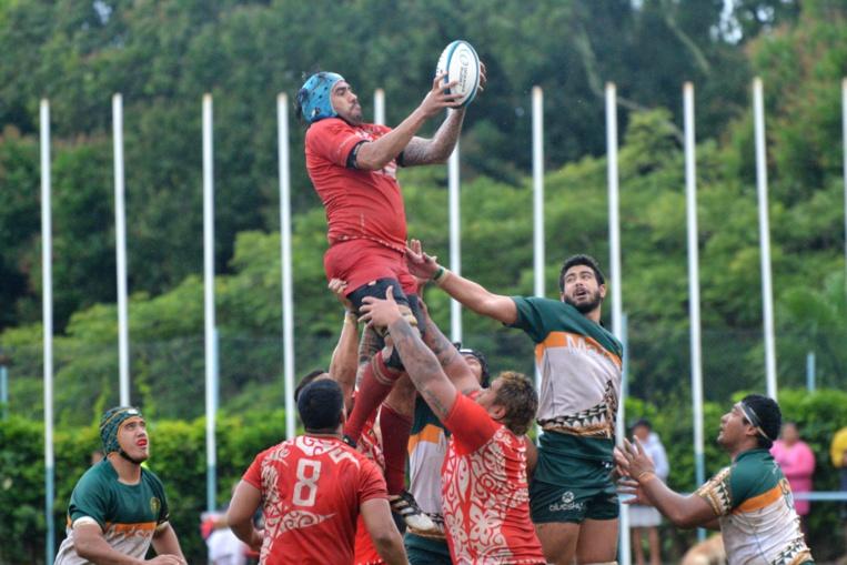 Tahiti a battu Cook pour la première fois de son histoire © Ronnie Si'ulepo// Oceania Rugby