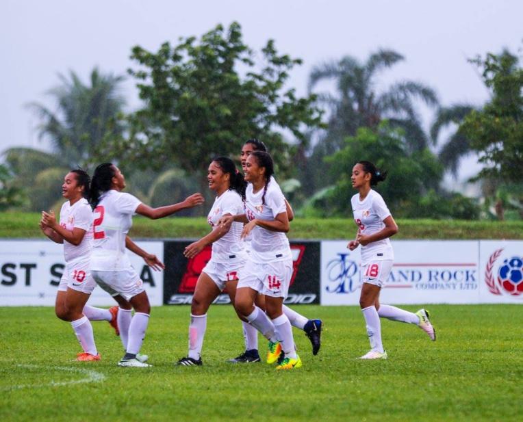 Ce n'est que le début du renouveau du football tahitien féminin
