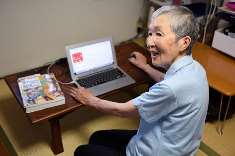 """Japon: développer des """"applis"""", même à 82 ans, ça s'apprend"""
