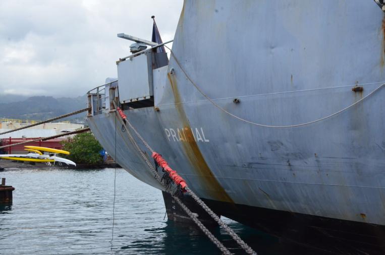 Le Prairial reprendra la mer en décembre prochain.