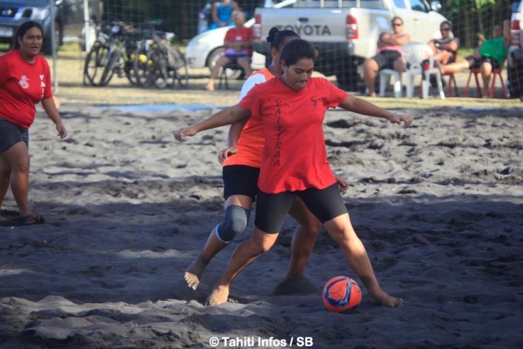 Du beach soccer était également au programme