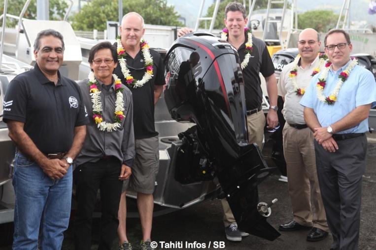 Les responsables pour le Pacifique de Mercury sont à Tahiti actuellement