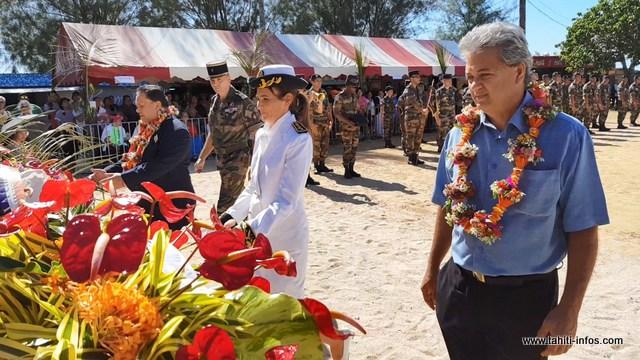 Angély Garbutt occupait les fonctions d'administrateur des îles Australes, depuis août 2015.