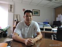 Bruno Jordan, chef de service du service du tourisme.