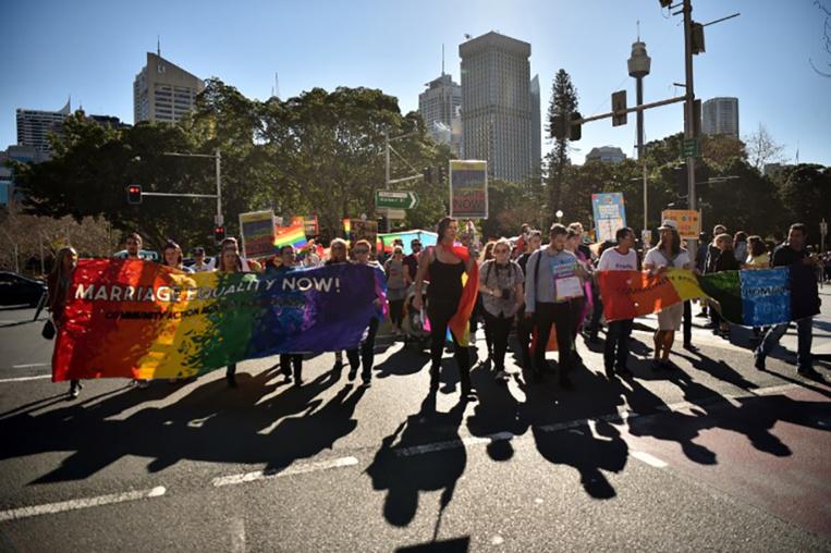 Action en justice contre un vote postal sur le mariage gay en Australie
