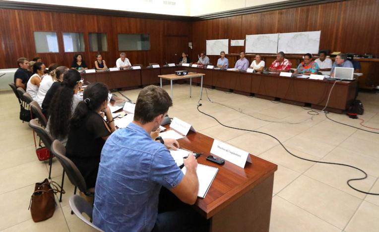 Le projet de nouveau Plan général d'aménagement d'Uturoa validé