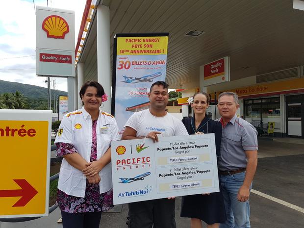Jeu Shell-Pacific : Clément Terei, gagne un voyage en Californie