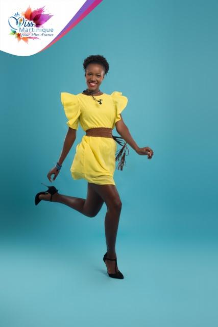 C'est finalement la première dauphine, Laure-Anaïs Abidal, qui représentera la Martinique.