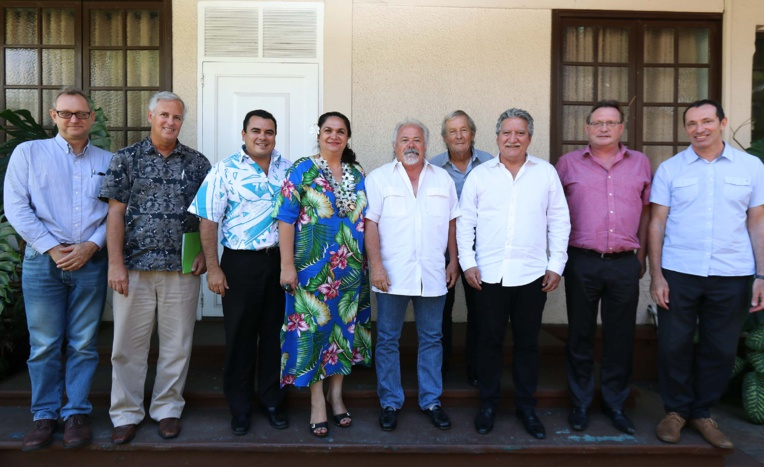 Une réunion technique pour le « Village Tahitien »