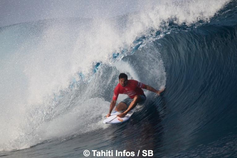 Michel Bourez a pourtant bien surfé