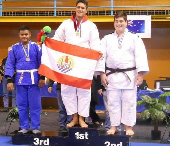 Le jeune athlète a commencé le judo à l'âge de 15 ans.