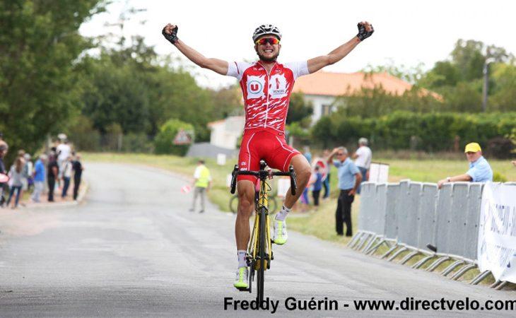Belle victoire de Taruia Krainer © CRÉDIT PHOTO FREDDY GUÉRIN - DIRECTVELO