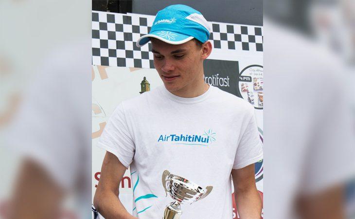 Raphaël Armour-Lazzari, jeune triathlète formé en Polynésie