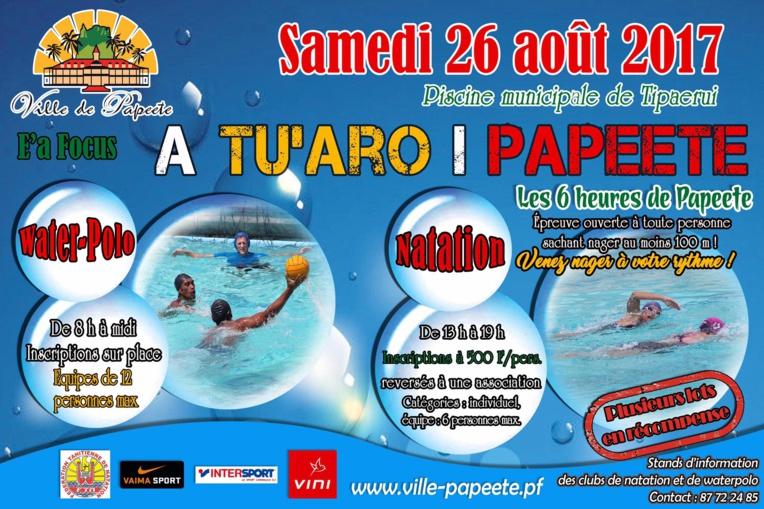 E'a Focus - A Tu'aro i Papeete : deux événements sportifs à Papeete le 26 août
