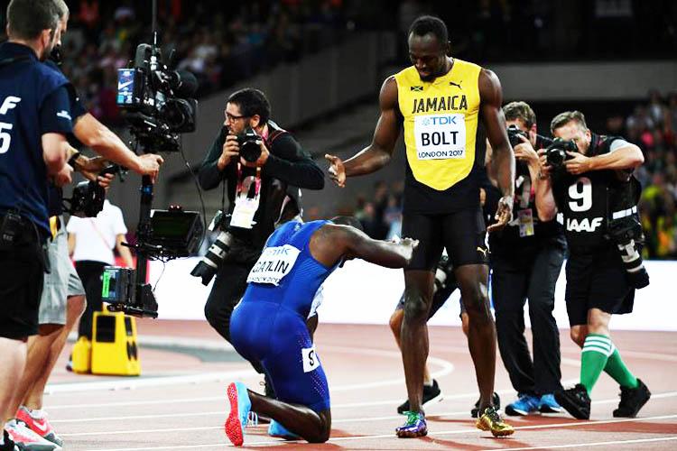 Takina a pu voir cotoyer l'élite mondiale du sprint