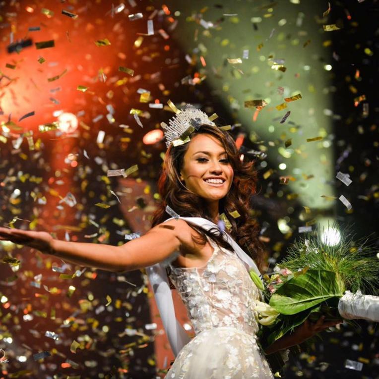 Une demie Polynésienne élue miss Nouvelle Calédonie 2017