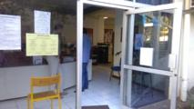 Les locaux administratifs avaient été les plus touchés lors des intempéries.