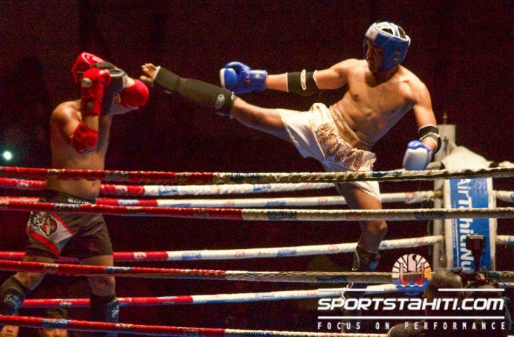 La soirée Boxe Thaï s'est déroulée à Fautaua