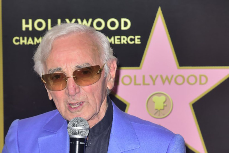 Aznavour en haut de l'affiche à Hollywood et reçoit enfin son étoile
