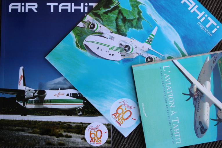 Une exposition sur l'histoire de l'aviation pour fêter les  60 ans d'Air Tahiti