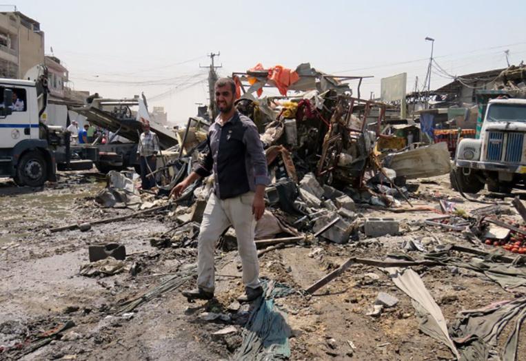 Irak: 11 morts dans un attentat de l'EI sur un marché de Bagdad
