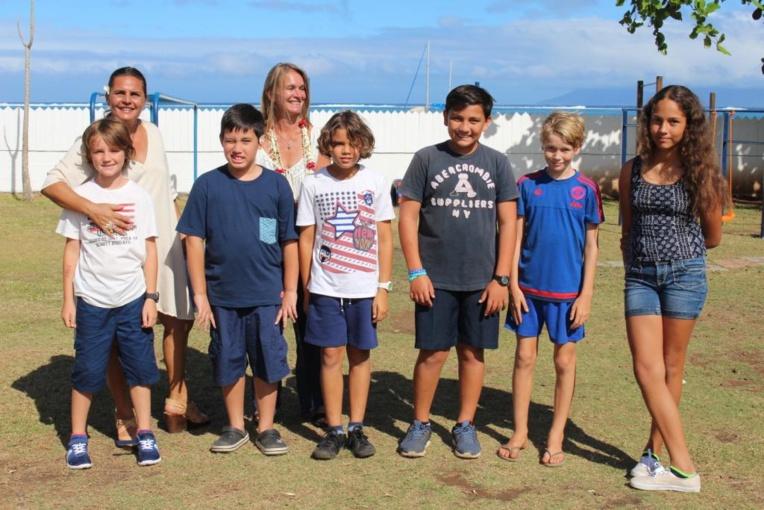 La Tahiti international school fait sa rentrée