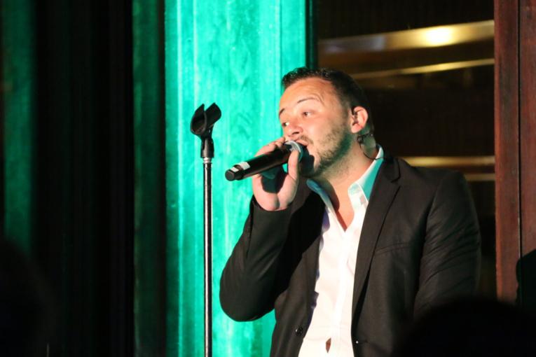 Fabian Le Castel a joué son spectacle à guichets fermés à Moorea.