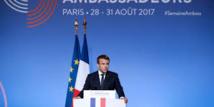 """Macron place la lutte contre le """"terrorisme islamiste"""" au coeur de sa diplomatie"""