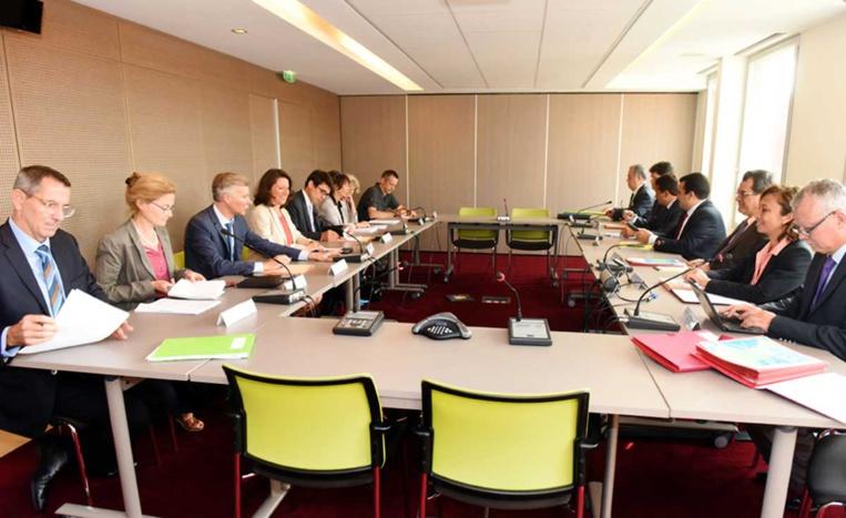 Santé : Edouard Fritch rencontre Agnès Buzyn à Paris