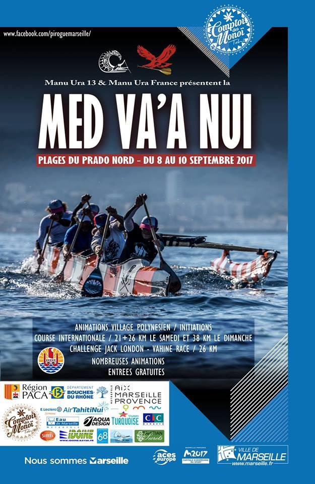 Première édition de la Med Va'a Nui