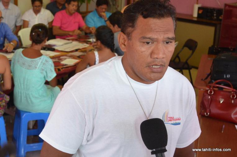 Tauhiti Nena débarqué du Comité olympique sur décision de justice