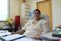 Loyana Legall, directrice des affaires foncières.