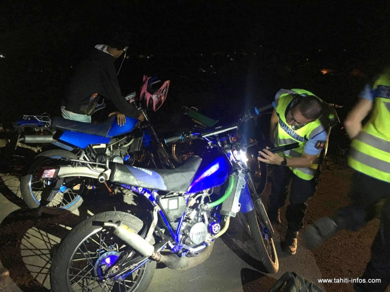 Via cette opération, la gendarmerie souhaite sensibiliser les jeunes sur les risques qu'ils prennent lorsqu'ils se lancent dans des runs.