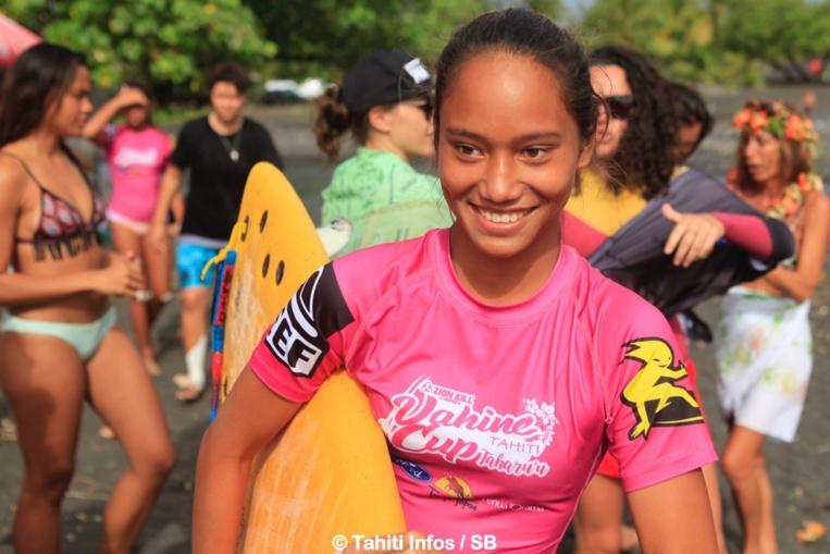 Tehani Tefaatau, une de nos jeunes championnes, 2e en junior
