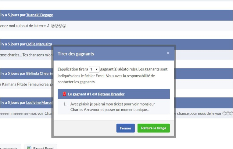 Gagne deux places pour le concert de Charles Aznavour en participant au jeu Facebook Tahiti-infos