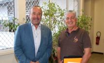 Jacques Raynal s'entretient avec Dominique Mirada de la Caisse des dépôts et consignations