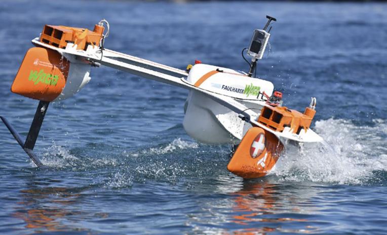 A Saint-Tropez, les petits bateaux ont des ailes